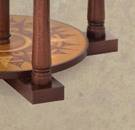 Semi-rotating floorstanding