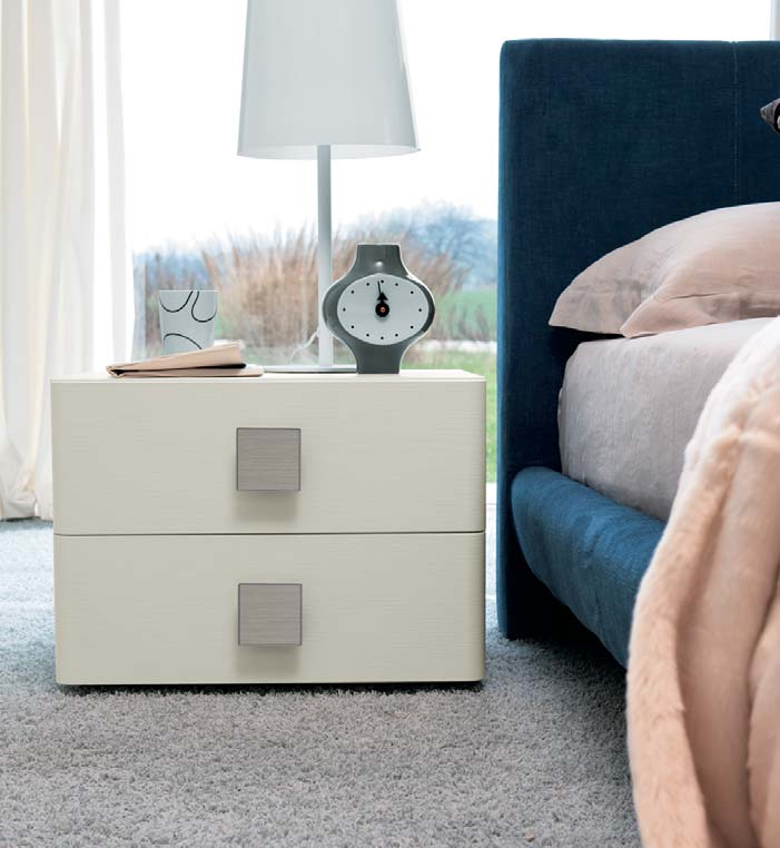 A furnishing solution where the soft brightness of