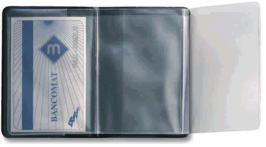 36 pz B350EL - Custodia cards 2 posti - ELITE - F.to cm 6,8 x 9,5 - Conf.