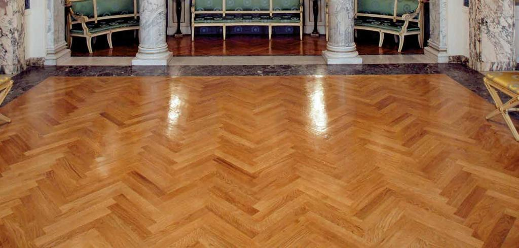 Those who love wood and wants to go without fail, only has the choice between Lamparquet, Listoncino, Listone Solista and Stepping Floor, which remain the most renowned parquet and still maintain