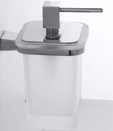 42 43 H 17 H 2 761/D Porta dosatore a muro Wall-mounted soap dispenser P. 13 L.