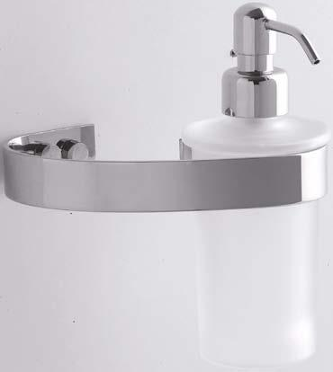 116 117 H 18 H 11 811/D Porta dosatore a muro Wall-mounted soap dispenser P. 13 L.