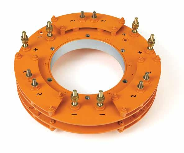 Ponti Raddrizzatori per Sistemi Rotanti Id = 300 A Weight = 3800 g Rotating Silicon Rectifier Assemblies TECHNICAL DATA Article Description VR Varistor ID mm (D)