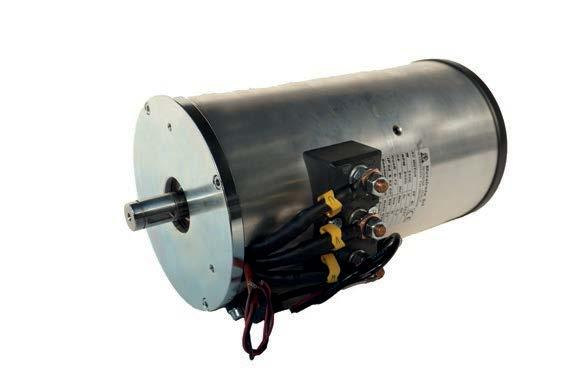 The AC motors works with alternate current in low voltage.