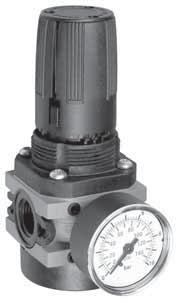 regolatore di pressione G1/2 G1/2 pressure regulator NUOVO NEW Regolatore a membrana con valvola di scarico sovrapressione (relieving) Diaphragm-type pressure regulator with relieving