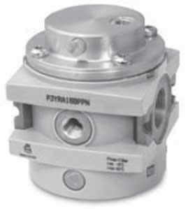 regolatore di pressione pilotato G1 piloted G1 pressure regulator Regolatore a membrana con valvola di scarico sovrapressione (relieving) Diaphragm-type pressure regulator with relieving Si può