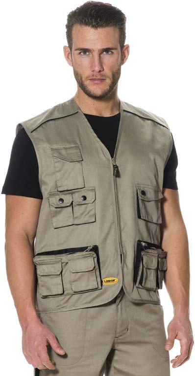 SAFARI 5/G gilet multitasche,