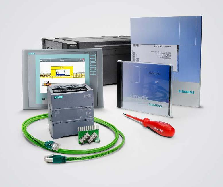 Starter Kits SIMATIC S7-1200 + KTP600 Basic Starter Kit CPU 1212C AC/DC/RLY KTP600 Basic color PN SIMATIC STEP 7 Basic V10.