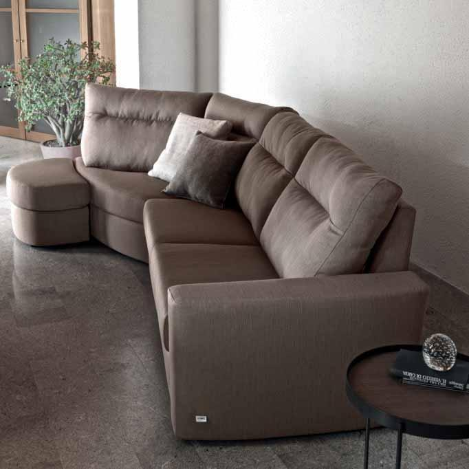 ricerca del comfort. A composition in the name of design and comfort.