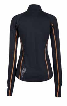 RUN LONG SLEEVE JERSEY/MAGLIA MANICHE LUNGHE CODE: SP 2161 14 RUN Running long sleeve jersey made of soft, breathable fabric with hydrophilic and anti - odour treatment.