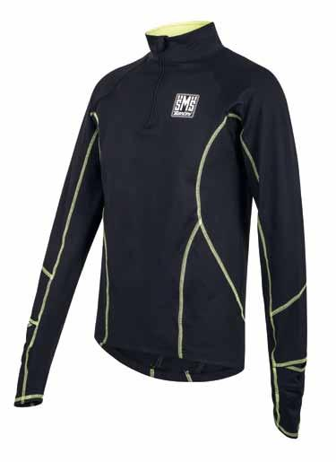 RUN LONG SLEEVE JERSEY/MAGLIA MANICHE LUNGHE CODE: SP 2160 14 RUN Running long sleeve jersey made of soft, breathable fabric with hydrophilic and anti - odour treatment.