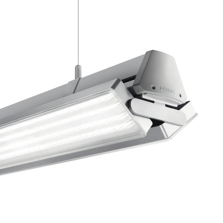 Applicazione Supermercati Showroom Specifiche Tipo 4MX800 Temperatura ambiente +25ºC Sorgente luminosa Unità a LED media Philips Fortimo LEDline 3R Intervallo temperatura da -20 a +35ºC Potenza
