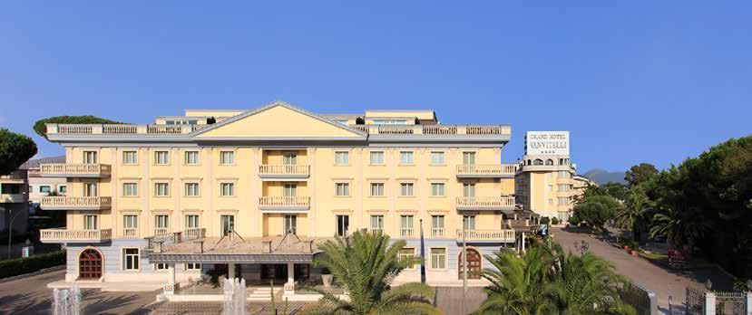 Located in a strategic position, the Grand Hotel Vanvitelli****S and its efficient business
