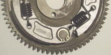 CLUTCH ROTOR WITH STARTING GEAR ROTOR EMBRAYAGE