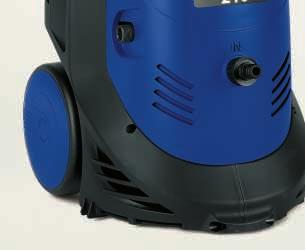 This version allows the user to select two pressure levels, LOW and HIGH, by adjusting the rpm of the electric motor.