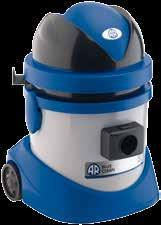 or stainless steel body 1 single-stage motor Ideal for cleaning in tight spaces 3260 Tubo flessibile 2 m completo ø 36