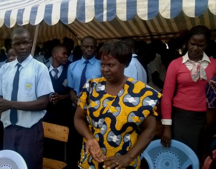 15 th October Global Hand washing day was celebrated at Aringo Primary school.
