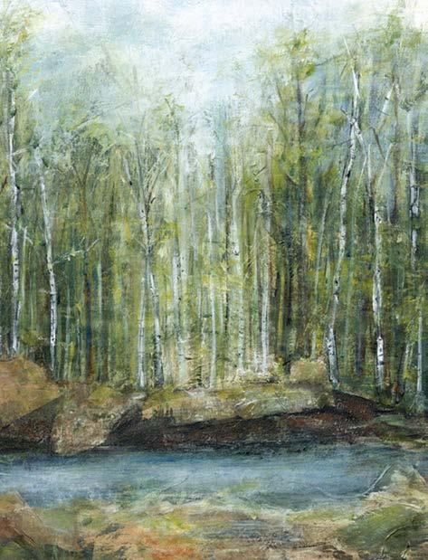 CANVAS ART RIVERSCAPE