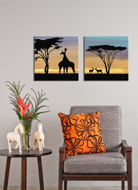 CANVAS ART WILDLIFE
