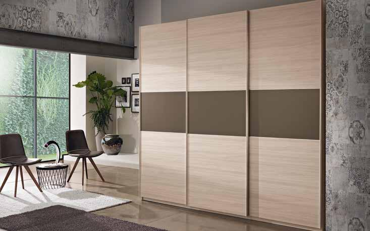 GRACE nuove armonie nell ambiente notte Scorrevoli / Sliding doors Composizioni armadi scorrevoli sliding doors wardrobes compositions GR14 / GR15 / GR17 / GR19 / GR21 / GR22 / GR23 pag.