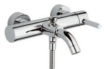 mixer for bath with shower kit and wall spout 0103 Bocca