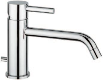 Miscelatore per lavabo s/salterello Single lever mixer for basin without pop-up waste 0405/P