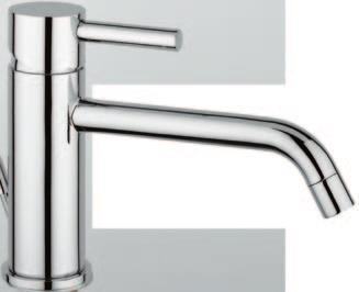 Single lever mixer for higher level basin without pop-up waste 0405/2 Miscelatore per lavabo sovrapiano c/salterello Single lever mixer