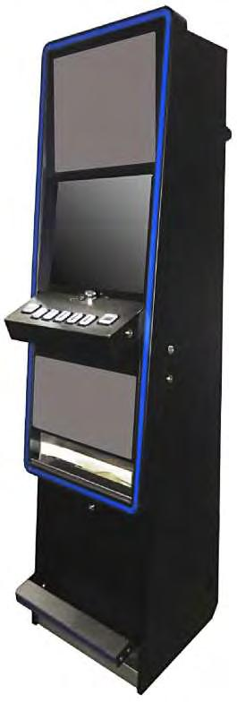 Merkur Motion Slim (Merkur Gaming Italia) Sky Slot Twin (Highlight of the Game) Note di elementi non sensibili Particolari alternativi cabinet Sky Slot Twin Cupolino Luminoso (Opzionale) Testatina