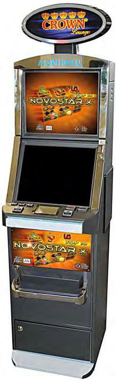 Double VLT (Jolly Games Italia) (Novomatic Italia) FV761 Mobile Lounge Note di elementi non sensibili Queste parti