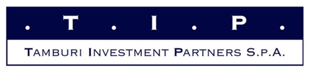 TAMBURI INVESTMENT PARTNERS S.P.A. capitale sociale: euro 76.855.