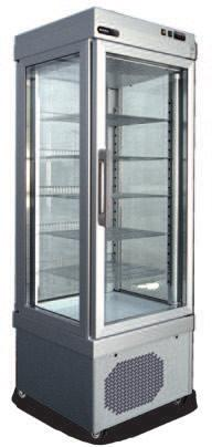 S BT refrigerated fixed PST 440/441 Illuminazione imballo Peso Netto/ Lordo Net/Gross weight (kg) PST440TNV 9PST440TNVN10 3.