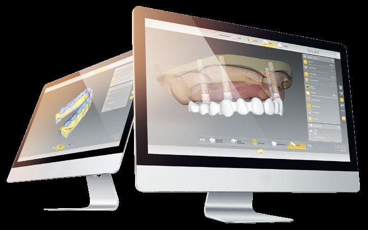 DENTSPLY SIRONA PRESENTA IL SOFTWARE INLAB CAD 16.