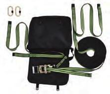 ACCESSORI SPECIALI ANT/RS20 (FA 60 007 00) Linea di Vita Temporanea in Nastro mm.30 Lunghezza regolabile da mt. 2 a mt.