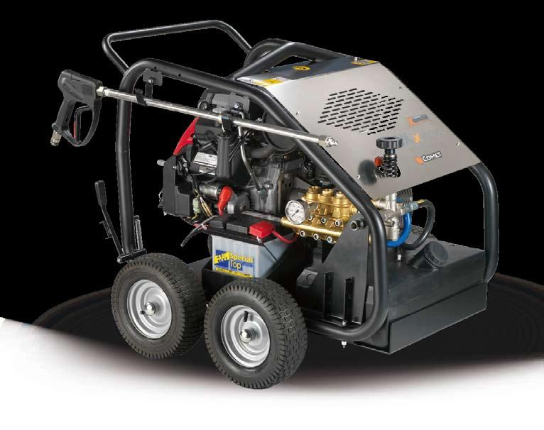 X SPECIAL 1560 FDX Xtreme 4 ruote - wheels GENERAL FEATURES 4 wheels with foamed-acting pneumatic Honda GX 690 4-stroke two cylinder net 22HP