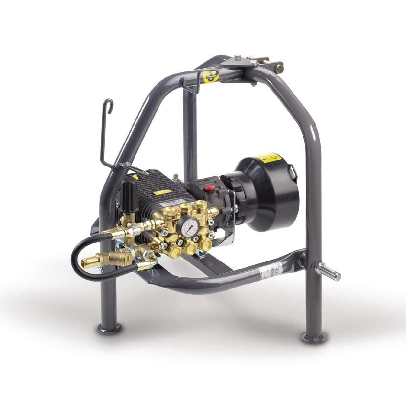 X SPECIAL PTO 1000 1450 56 GENERAL FEATURES Also available with compact closing frame (71x85x15 cm) RW pumps with 1450 rpm gearbox kit With TWN pump for direct application Water suction from external
