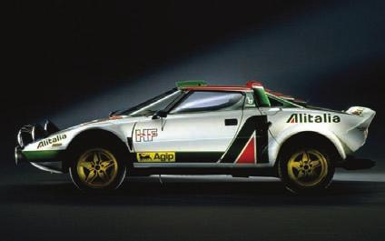 Therefore, the Stratos is the great cheese of the car world.