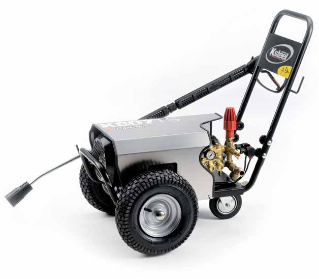 K STEEL K 803-805 - 807-809 TS 1400 GENERAL FEATURES Heavy duty structure with stainless steel cover Handy and secure housing of the hose reel (when