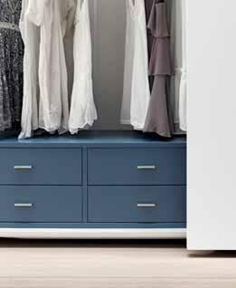 76 CASSETTIERE INNER CHEST OF DRAWERS Si possono utilizzare a terra, sovrapponibili o sospese Can be used on the ground, or suspended superimposable Cassettiere sovrapponibile Stackable drawers con 2