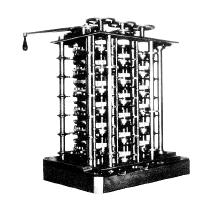 Charles Babbage (1840) Hardware: Charles Babbage (1840): padre del calcolatore moderno.