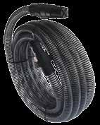 ACCESSORIES - SUCTION HOSE & DELIVERY HOSE 7m Ready to install for emergency or permanent use Works with self-priming pumps G1 male and female thread connectors 7 m lenght Inner diameter 1 (25 mm)
