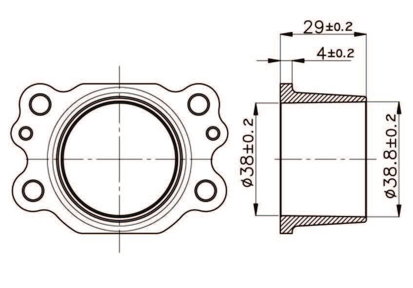 GASKET ÉCHAPPEMENT JOINT COLLETTORE DI SCARICO EXHAUST