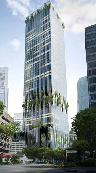 59LAST MINUTE ECONOMIA IMMOBILIARE N 55 BIG con Carlo Ratti nella nuova Torre di CapitaLand a Singapore The 280m tall high-rise on 88 Market Street, jointly designed by BIG-Bjarke Ingels Group and