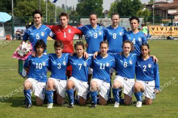 SPORT A girl into football by Jenny Camilli, 2H I've played football since I was seven. Initially I played two years for a men's team, coached by Angelo Bacci, then I joined a women's team in Serie B.