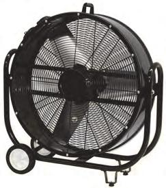 "45 cm - 18"" Ventilatore industriale a sospensione - Heavy duty Hanger fan Cod."