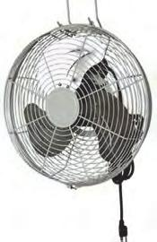"34 A) Power: 75W (0.34 Amps) 45 cm - 18"" Ventilatore industriale per montaggio a parete - Heavy duty Wall Mounting fan Cod."