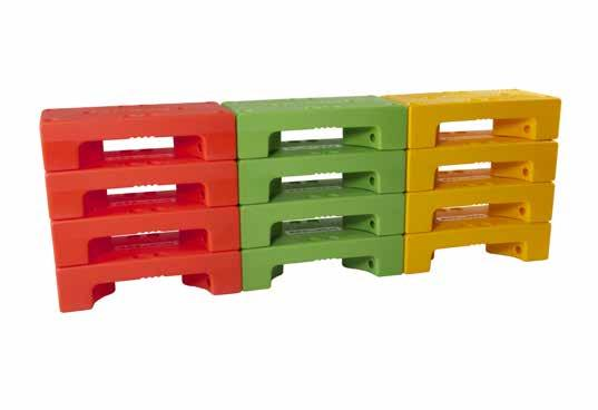 different types of assembly and minimize storage space PUZZLE STEP + STEP MADE IN ITALY +