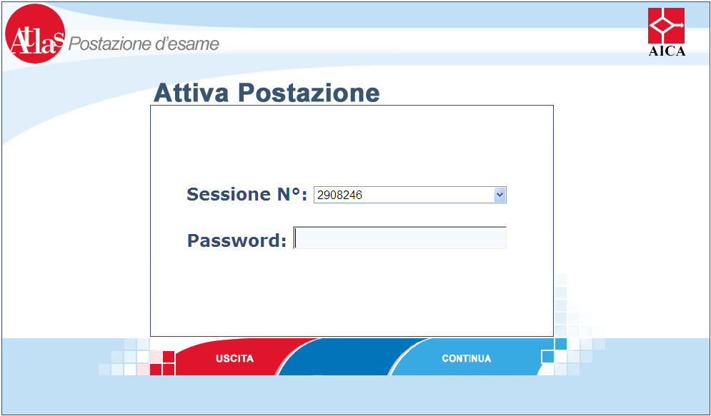 Durante la sessione d esame (Demo e Core) si consiglia di disattivare il firewall software di Windows Xp SP2 sul Server e Client ed eventuali Antivirus che possono interrompere la comunicazione tra