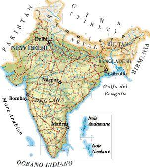 Cartina Geografica Dellindia Fisica.I Confini Cartina Geografica Dell India Pdf Download Gratuito