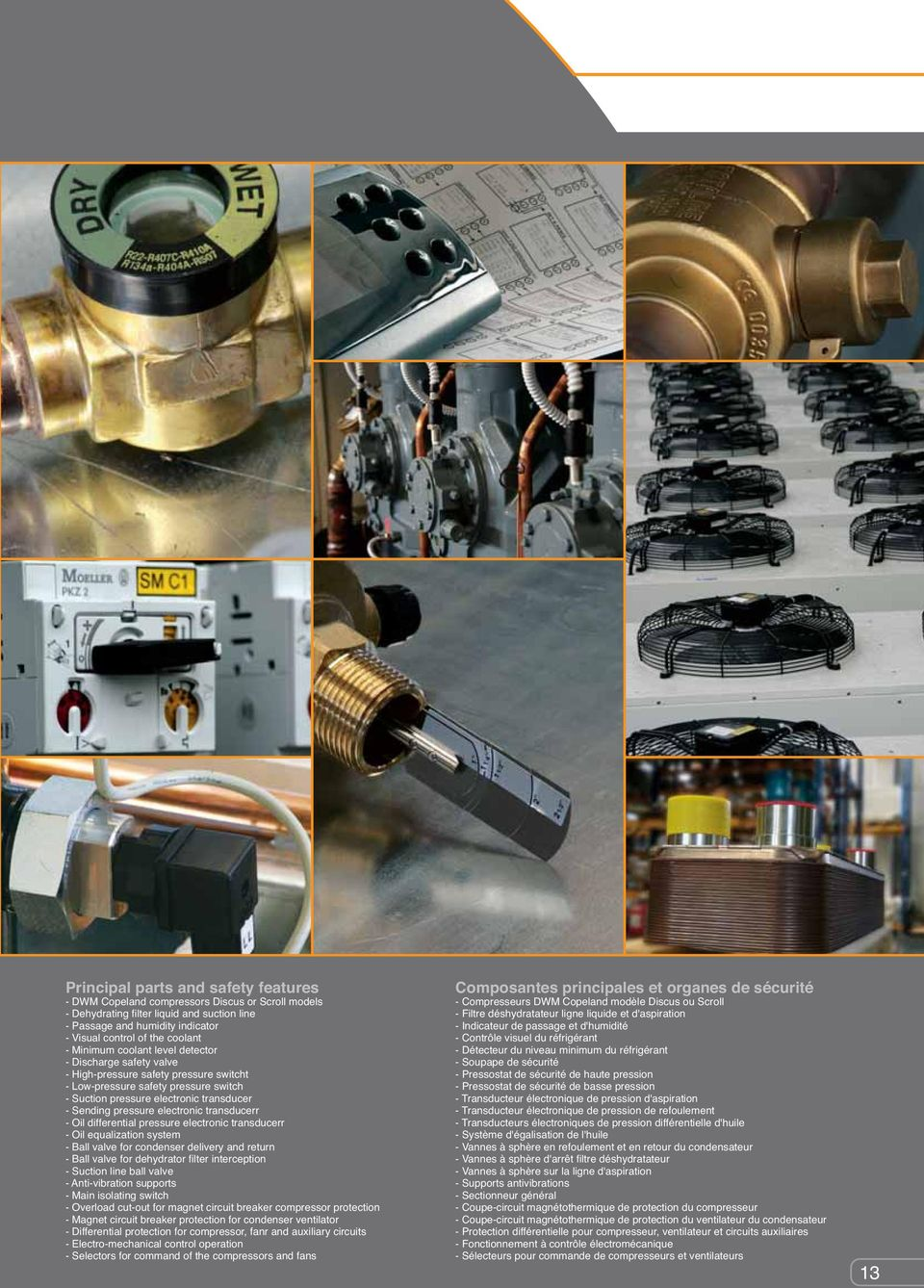 Catalogo Generale Centrali Frigorifere General Catalogue Electro Plate Circuitry Dragon Circuitselectro Electronic Transducerr Oil Differential Pressure Equalization System Ball Valve For