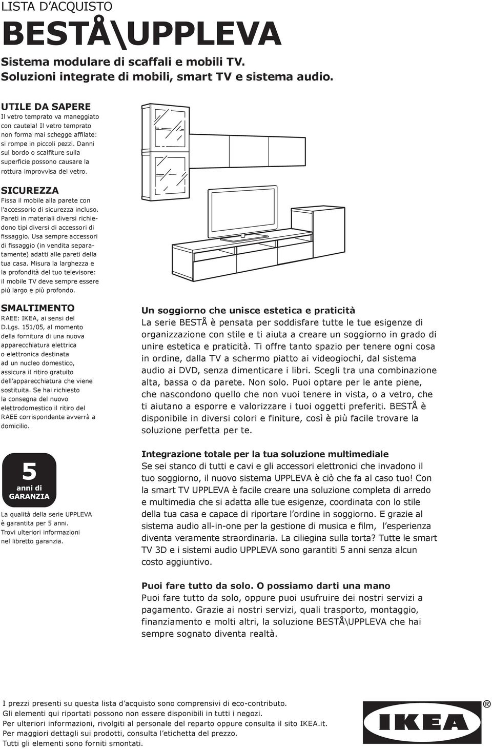 Pannello Porta Tv Ikea Framsta.Lista D Acquisto Besta Uppleva Pdf Download Gratuito